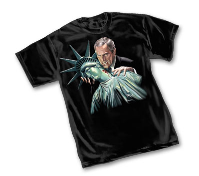 SUCKING DEMOCRACY DRY T-Shirt by Alex Ross • L/A