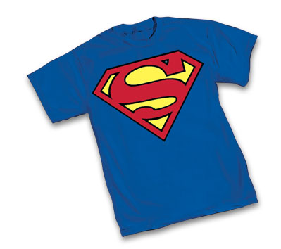 SUPERMAN: JUSTICE SYMBOL T-Shirt • L/A