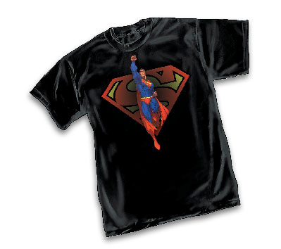 SUPERMAN: LAUNCH T-Shirt by Michael Turner • L/A