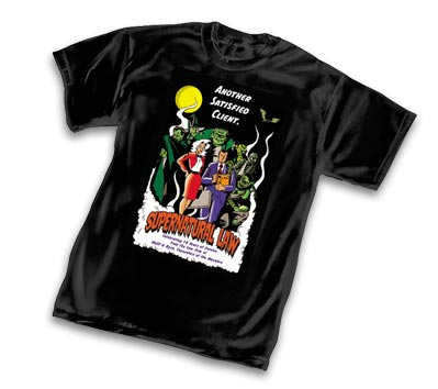 SUPERNATURAL LAW: 10th ANNIVERSARY T-Shirt