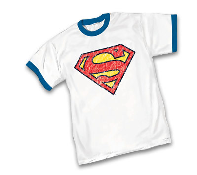 SUPERMAN SYMBOL RINGER T-Shirt.