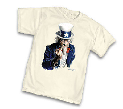 UNCLE SAM F.U. T-Shirt by Alex Ross � L/A