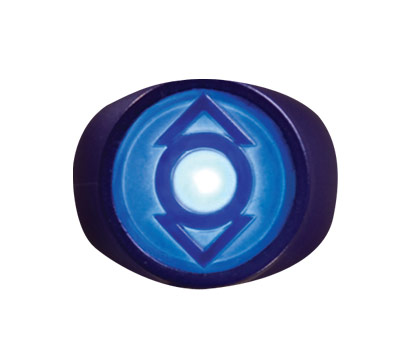 INDIGO LANTERN: LIGHT-UP POWER RING