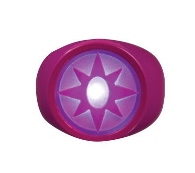 VIOLET LANTERN: LIGHT-UP POWER RING