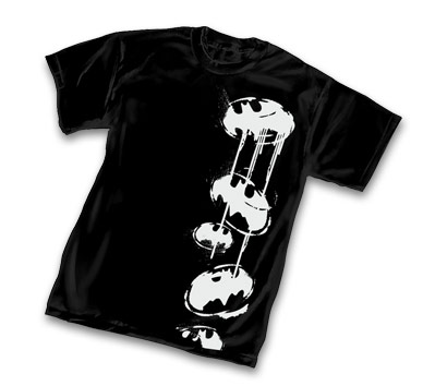 BAT-SYMBOL: STRIPE T-Shirt