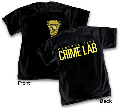 CENTRAL CITY: CRIME LAB T-Shirt