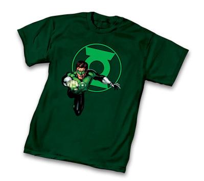 DC UNIVERSE: GREEN LANTERN T-Shirt by Doug Mahnfke • L/A