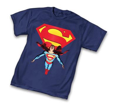 DC UNIVERSE: SUPERMAN T-Shirt by John Cassaday • L/A