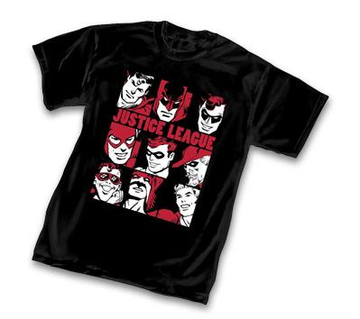 JUSTICE LEAGUE RETRO T-Shirt