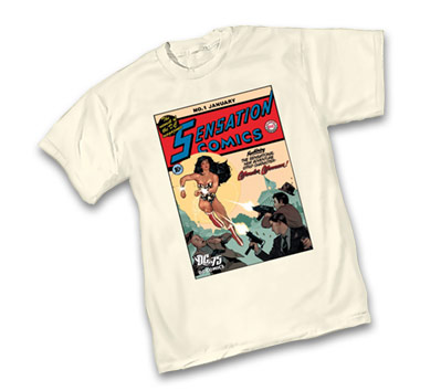 DC 75th: SENSATION COMICS #1 T-Shirt by Adam Hughes • L/A