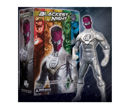 SDCC/WC10 Exclusive: Blackest Night White Lantern Sinestro Action Figure