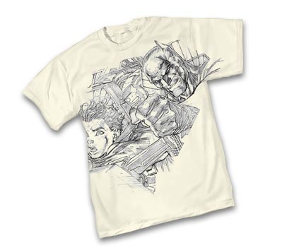 BATMAN: FOCUSED T-Shirt by Jim Lee • L/A