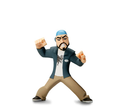 CHASING AMY InAction Figures - BANKY