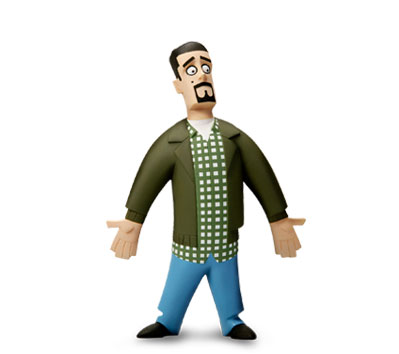 CHASING AMY InAction Figures - HOLDEN