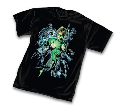BLACKEST NIGHT: GREEN LANTERN T-Shirt by Ivan Reis
