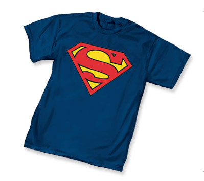 SUPERMAN SYMBOL T-Shirt (navy) • L/A
