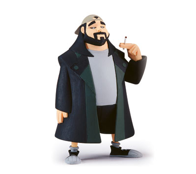 CLERKS InAction Figures - SILENT BOB