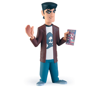 MALLRATS InAction Figures - BRODIE