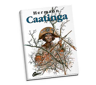 CAATINGA Limited Hardcover Book by Hermann