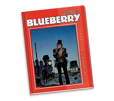 MOEBIUS 8: BLUEBERRY Ltd. Book by Charlier & Giraud