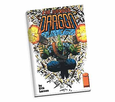 SAVAGE DRAGON Limited Hardcover Book by Erik Larsen
