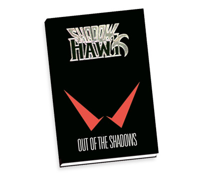 SHADOWHAWK Limited Hardcover Book by Jim Valentino