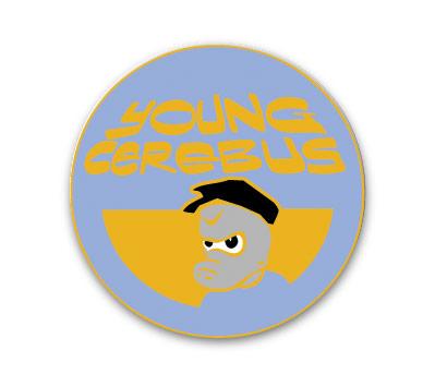 CEREBUS #5: YOUNG CEREBUS Cloisonne Pin