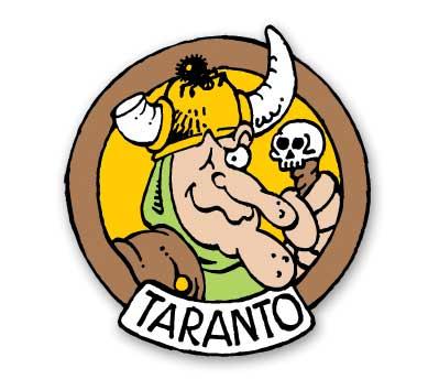 GROO #3: TARANTO Cloisonne Pin