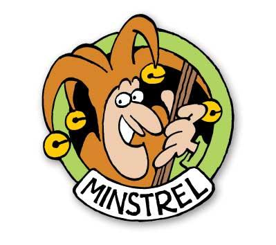 GROO #5: MINSTREL Cloisonne Pin