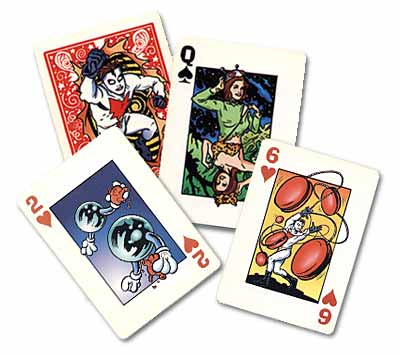 MADMAN PLAYING CARDS