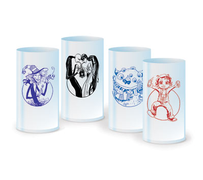 SCARY GODMOTHER Plastic Tumbler Set