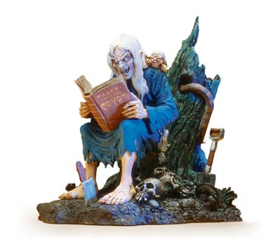 E.C. COMICS: CRYPT-KEEPER Cold-Cast Statue