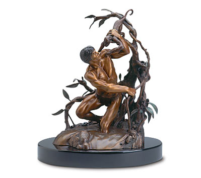 THE HOGARTH TARZAN Bronze Statue