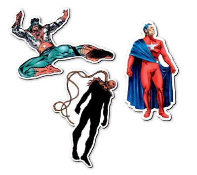 ASTRO CITY #2 Magnet Set