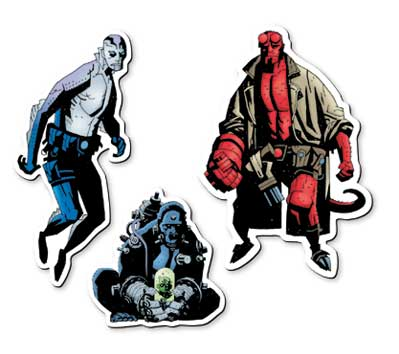 HELLBOY Magnet Set