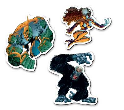 SAVAGE DRAGON Magnet Set