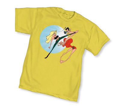 PLASTIC MAN: COPS & RUBBER! T-Shirt by Kyle Baker