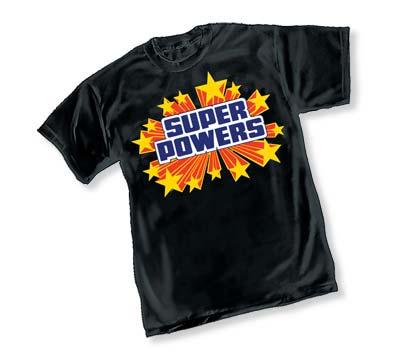 SUPER POWERS LOGO T-Shirt