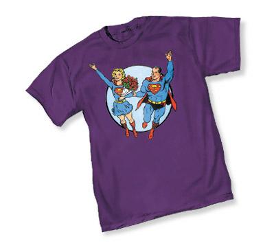 SUPERGIRL & SUPERMAN T-Shirt
