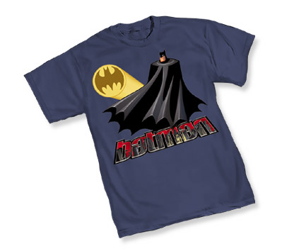 ANIMATED BATMAN: BATSIGNAL T-Shirt • L/A
