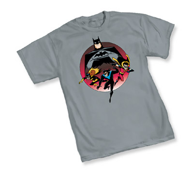 ANIMATED BATMAN: HEROES T-Shirt • L/A