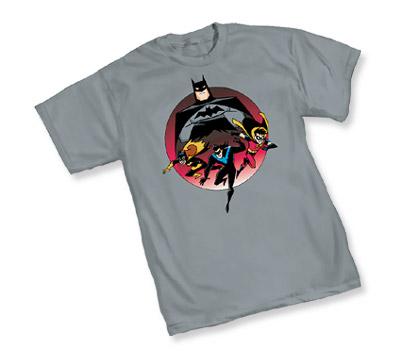 ANIMATED BATMAN: HEROES T-Shirt • L/A