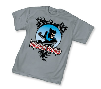 ANIMATED BATMAN: NIGHTWING T-Shirt • L/A