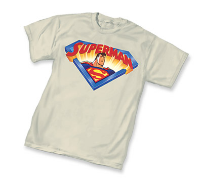 ANIMATED SUPERMAN LOGO T-Shirt • L/A