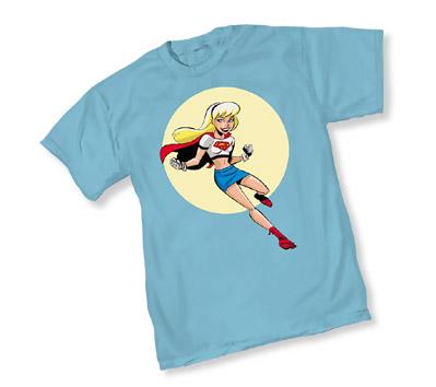 ANIM. SUPERMAN: SUPERGIRL III T-Shirt by Bruce Timm • L/A