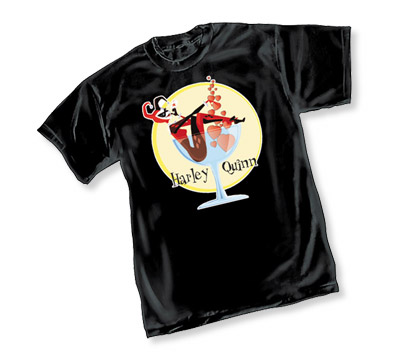 HARLEY QUINN: MARTINI TIME T-Shirt