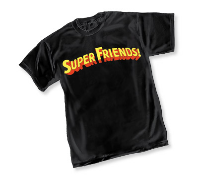 SUPER FRIENDS LOGO T-Shirt • L/A