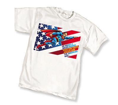 SUPERMAN: AMERICAN WAY T-Shirt • L/A