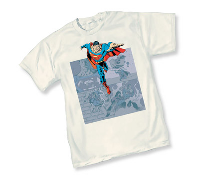 SUPERMAN: PANELS T-Shirt by Kevin Nowlan