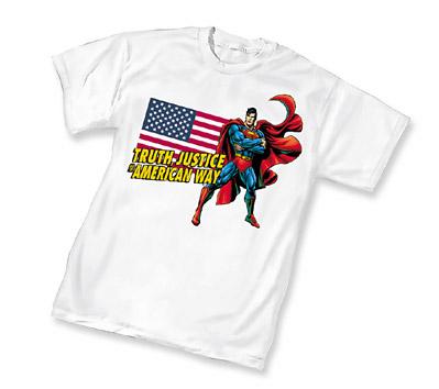 SUPERMAN: T.J. & A.W. T-Shirt • L/A